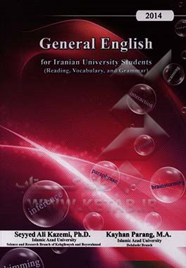 General English for Iranian university students (reading, vocabulary, and grammar)